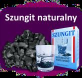 Szungit nautralny filtr wody