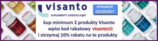 Visanto -10% rabat sprawdź szczegóły